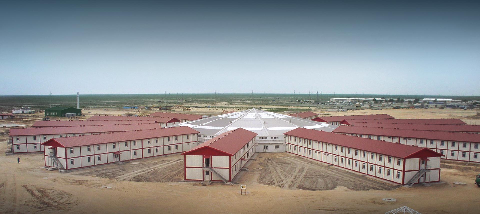 TCO ASSEST  TCO ASSEST  DEVELOPMENT PROJECT, CAMPING BUILDINGS FOR 8000 PERSONS, KAZAKHSTAN