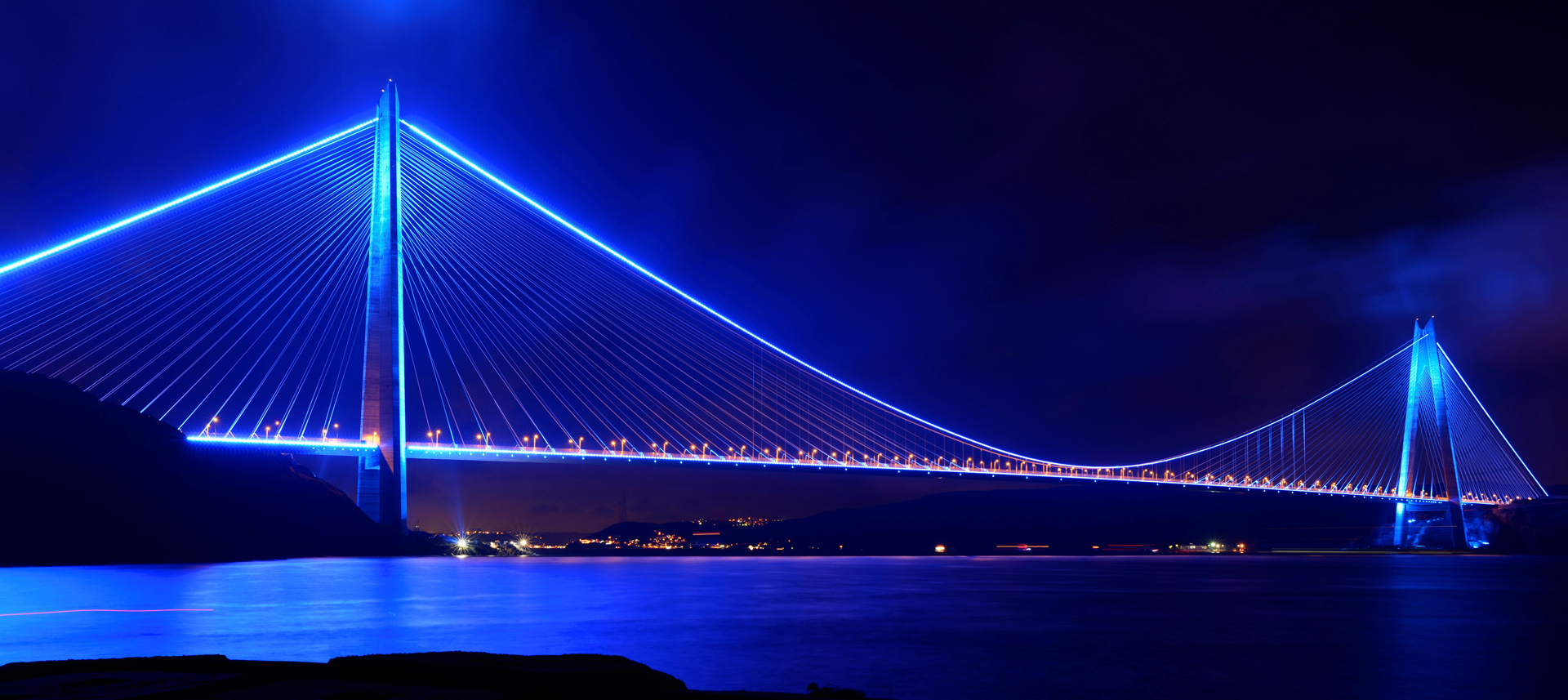 YAVUZ SULTAN SELİM BRIDGE  YAVUZ SULTAN SELİM BRIDGE  AND NORTHERN RING MOTORWAY